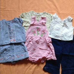 Girls Size 5 Summer Bundle